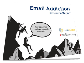 Email Addiction Report Cover - Consumer Survey