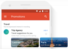 Gmail Promotions Tab Travel Bundle